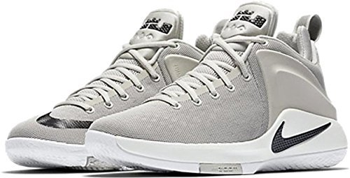 online retailer 816cd 747b1 Galleon - NIKE Lebron Zoom Witness Mens Basketball-Shoes 852439-011 10.5 -  Pale Grey Black-Sail-White