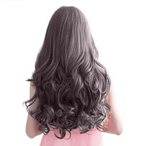 "PanDaDa Women Ladies 29"" Long Curly Wavy 6 Clips In On Hair Extensions Full ..."