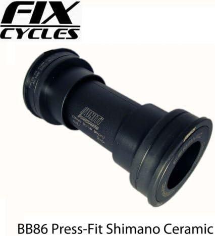 UNITi Press Fit BB86 eje pedalier Shimano carretera de cerámica ...