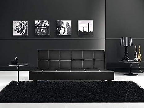 Divani Moderni In Ecopelle.Gstore Divano Letto Moderno Design 3 Posti Sofa Divano Letto Reclinabile In Ecopelle Stile Moderno
