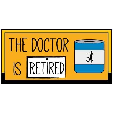 Amazon.com: VictoryStore Decoración de jubilación: el Doctor ...