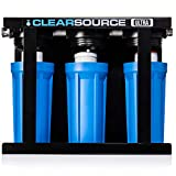 Clearsource Ultra | Premium Three Canister RV Water Filter System | Pristine Water. Unparalleled