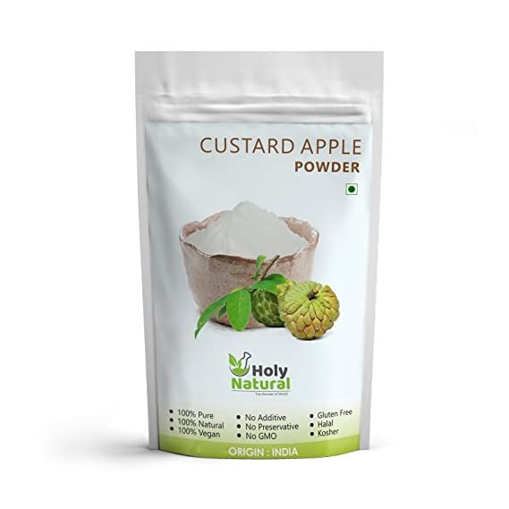 Holy Natural Custard Apple Powder - 200 GM