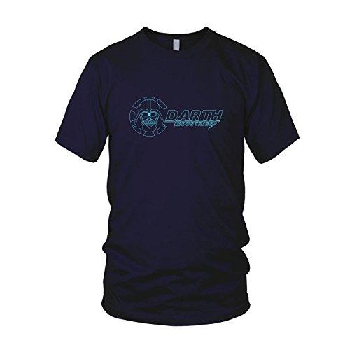 Darth Industries - Herren T-Shirt, Größe: M, dunkelblau