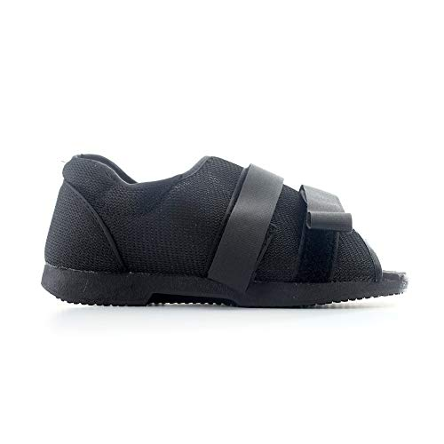 - MediChoice Post-Op Shoe, Foam-Padded, Hook & Loop Closure, Canvas, Women's Medium, Black, 1314OSG6322 (1 Each)