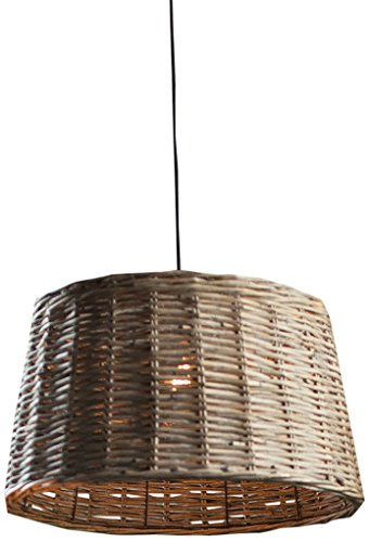 Vagabond Vintage Large Round Willow Pendant Shade