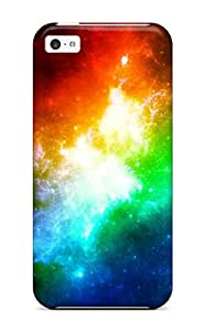 Awesome EeqxVUS12729MinKj Jon Bresina Defender Tpu Hard Case Cover For Iphone 5c- Colors In Space