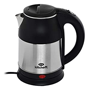 Kitchoff Automatic Stainless Steel Electric Kettle Heavy Body Extra Large Cattle With Handle for Home & Office (SPA, 1.8…
