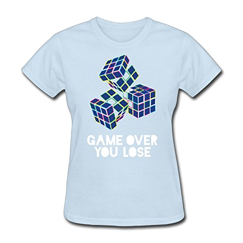 - CREATIVE DESIGN Game Over You Lose Women's T-Shirt