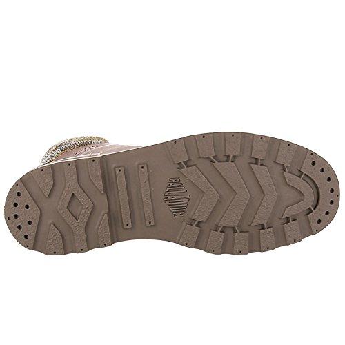 Carafe Sneaker LP Palladium Pampa Alto Sunrise F Knit Collo Donna a Braun wxwPIp