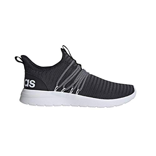 adidas Men's Lite Racer Adapt Running Shoe, Black/Black/Grey, 11 M US