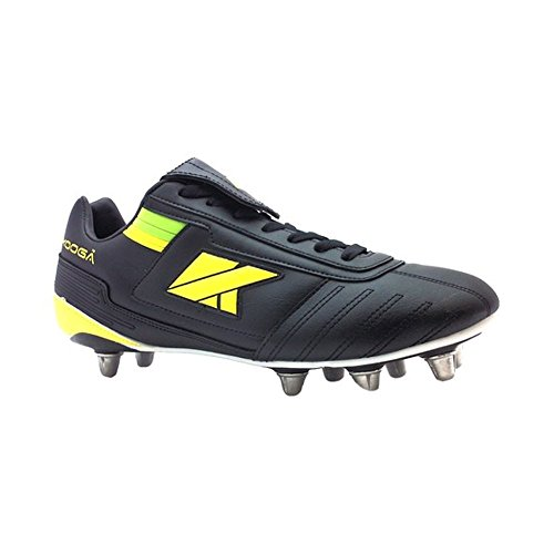KOOGA lightning LCST rugby boot Junior [black/yellow/green]