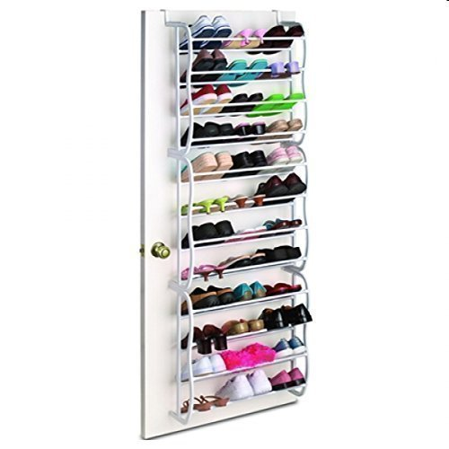 Door Shoe Rack Schuhaufbewahrungssystem für 36 Paar Schuhe