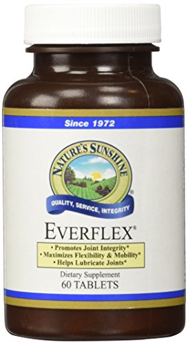 NATURE'S SUNSHINE Everflex with Hyaluronic Acid Tablets, 60 Count Review