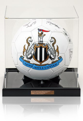 Newcastle United F.C. Hand Signed Football Ball