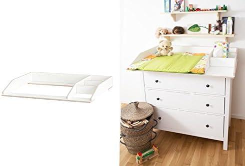 Cambiador ufsatz con compartimento para cómoda de Ikea ...