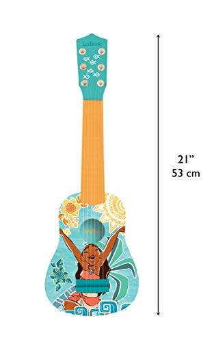 Vaiana Disney Primera Guitarra, 6 Cuerdas, 53 cm de Largo, Juguete niña a Partir de 3 años (Lexibook K200VN): Amazon.es: Juguetes y juegos
