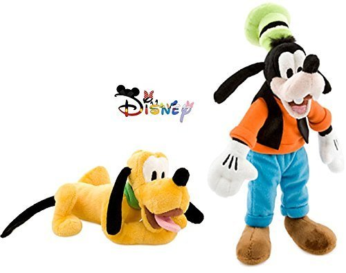 Disney Goofy and Pluto Plush Doll Set