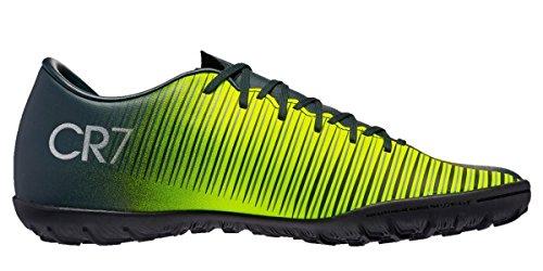 Nike 852497-376, Botas de Fútbol Niños Verde (Seaweed / Volt / Hasta / White)