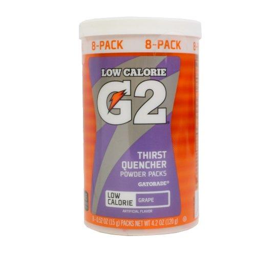 GATORADE, G2 SERIES THIRST QUENCHER POWDER PACKS, GRAPE - 8 CT by Gatorade