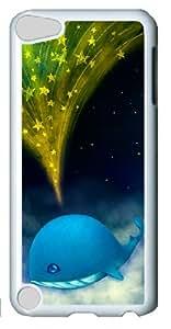 Cartoon Whale-1 Ipod Touch 5 White Sides Hard Shell Case by Sakuraelieechyan