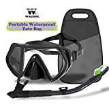 WACOOL Snorkeling Package Set for Adults, Anti-Fog
