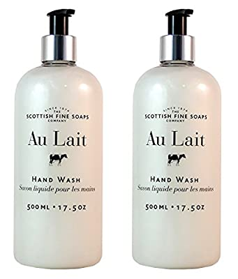 Scottish Fine Soaps Au Lait Liquid Hand Wash, 500ml/17.5 oz