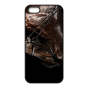 The Brown Horse Hight Quality Plastic Case for Iphone 5s