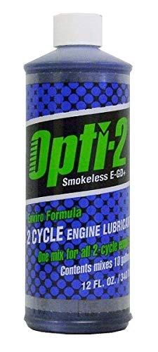 Opti-2 21212 12 oz 2 Cycle Oil - Quantity 24 Bottles