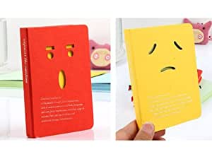 1x Students Cartoon Diary Blank Book Paper Journal Notebook Travel Planner