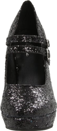 Black Damen für Shoes G Pump Ellie Maryjane Glitter Jane 421 xnYqzd8w7H