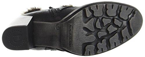 Bugatti 411339323059, Botas Para Mujer Negro (Black/ Taupe)