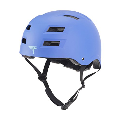 d CPSC Multi Sport Kids & Adult Bike And Skateboard Adjustable Dial Helmet – Multiple Colors & Sizes (Helmet Stick)