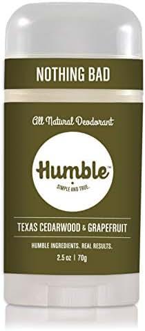Deodorant: Humble