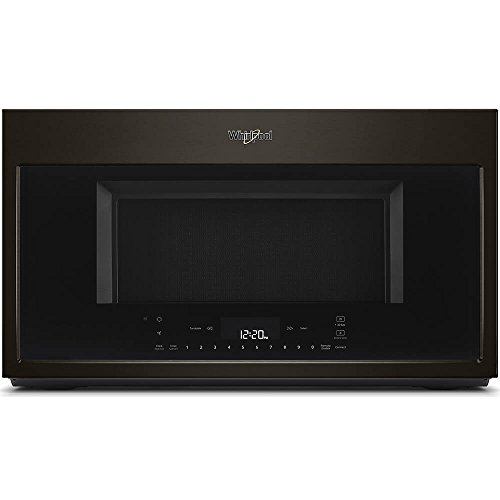 Whirlpool 30 in W 1.9 cu. ft. Smart Over the Range Convectio