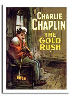 iPosters Charlie Chaplin The Gold Rush Movie Poster Print - Approx Size 40 X 30 Cms (15.5 X 11.5 Inches)