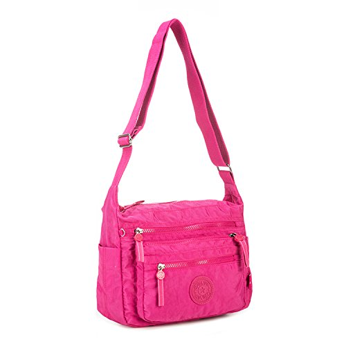 1 Fashion Travel Foino Bag Shoulder Women Tablet Cross Body Sport Bag Side for Messenger Satchel Casual Red Bag Bag Designer t0wH4wCqWx