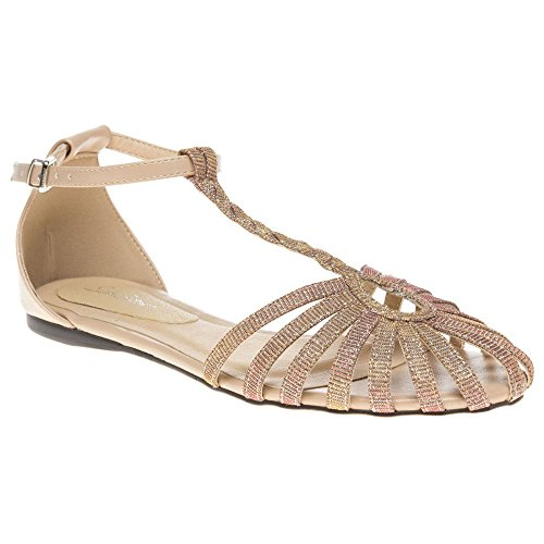 Beige Sandals Sole Sole Natural Salt Salt Oaq8OfU0n