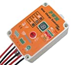 Jillier Waterproof Solar Light Controller dc 12V 24V 10A PWM Battery Charge Regulator