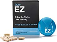Over EZ Alcohol Recovery Pills, After Alcohol Aid for Brighter Mornings, Boosts Immunity While You Drink, Milk