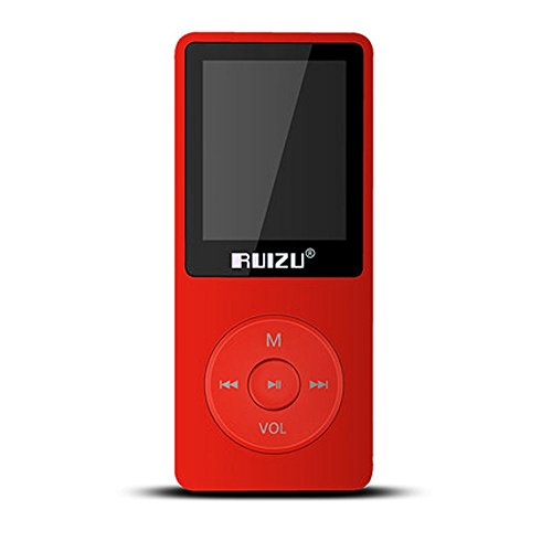 RUIZU X02 Ultrathin 8gb MP3 Player 70 Hours Continuous Playb