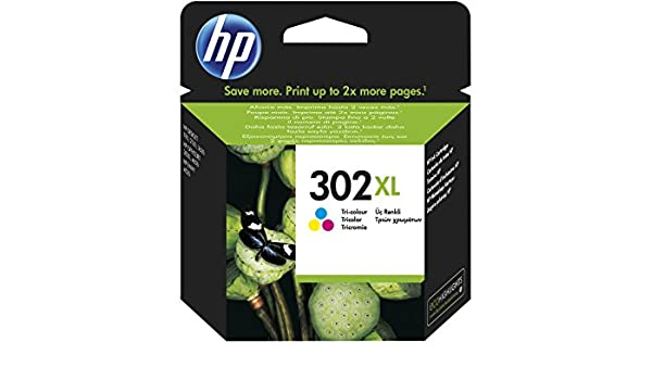 Amazon.com: HP Inc. 302XL, C/M/Y, 8ml Pages: 330, High capacity, 2391974 (Pages: 330, High capacity Blister): Computers & Accessories