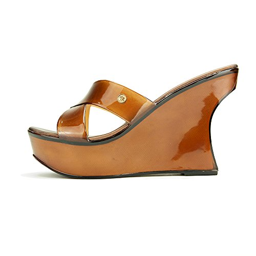 c068bfe819986 85%OFF Chemistry® JADE Womens Sandal Toe High Heels Jelly Shoes Low ...