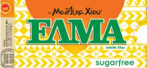 Natural Greek Chios Mastic Mastiha Gum Elma Sugarfree 10 Packs by ELMA
