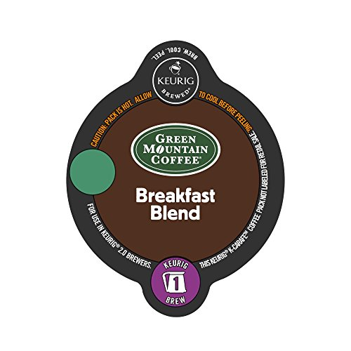 Green Mountain Coffee Breakfast Blend Coffee K-Carafe Pods for Keurig 2.0 ()