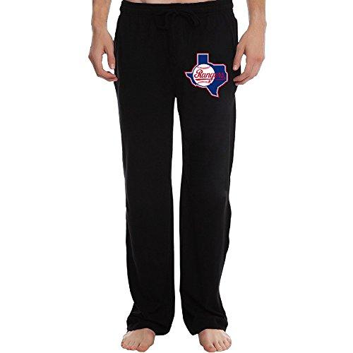 PTR Men's Texas Ranger Baseball Running Pants Color Black Size L