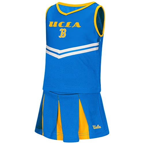 Colosseum NCAA Toddler-Girls Team Cheer Set-UCLA Bruins-3T -