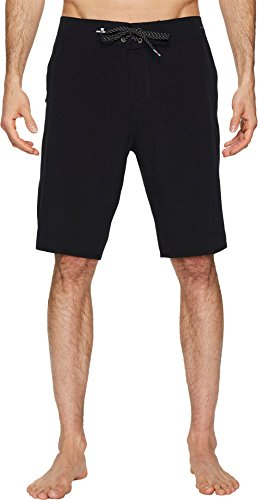 Quiksilver Men's Highline Kaimana 21 Boardshort Swim Trunk, Black, ()