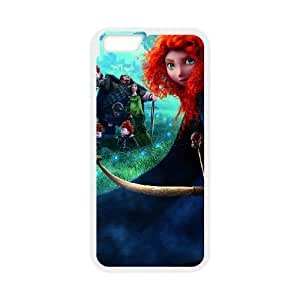 Disneys Brave iPhone 6 Plus 5.5 Inch Cell Phone Case White SH6152563