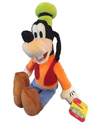 Plush Goofy Toy Disney - Mickey Mouse Clubhouse Bean Plush - Goofy, 10